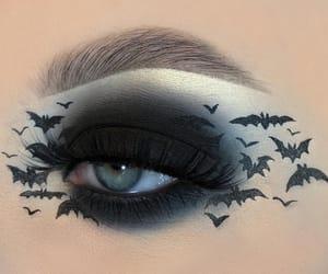 Halloween, makeup, and eyeshadow image