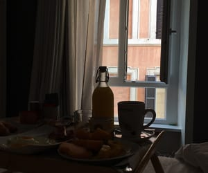 breakfast, italy, and views image
