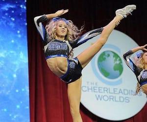 allstar, cheerleader, and flexibility image