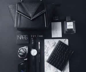 black, nars, and fashion image