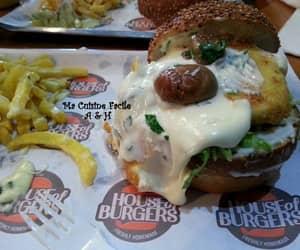 food, hamburger, and yumii image