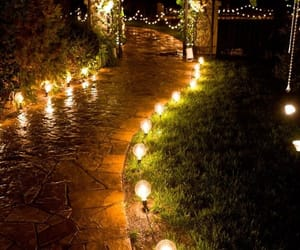 beautiful, walkways, and flowers image