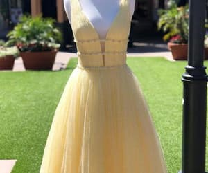 vintage prom dress, cheap prom dress, and prom dress long image