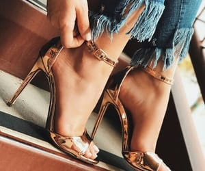 high heels, pretty, and shoes image