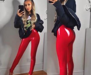 pants, pvc, and pantaloni image