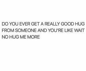 hug, sayings, and words image
