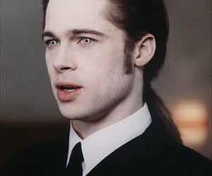 brad pitt, vampire, and Interview with the Vampire image