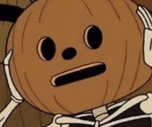 aesthetic, cartoon, and Halloween image