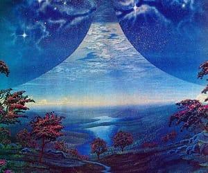 art, fantasy art, and 70s fantasy image