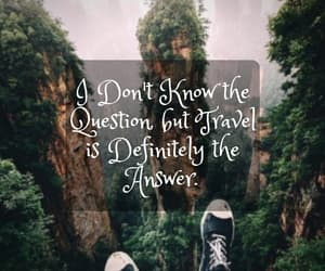 quote, traveler, and quotes image