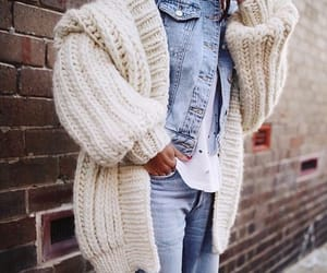 fashion, street style, and look image