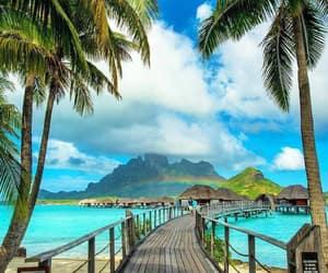 summer, Island, and sea image