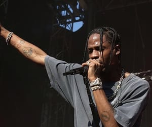 braids, rapper, and chains image