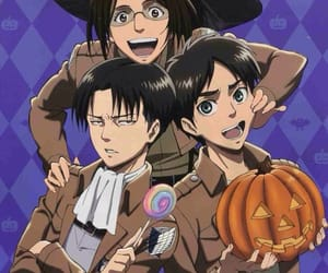attack on titan, shingeki no kyojin, and Halloween image