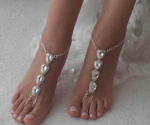 etsy, boho sandales, and beach wedding image