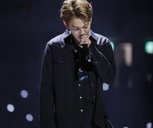 beautiful, jongdae, and black shirt image