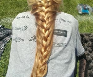 long hair, hair, and hairstyle image