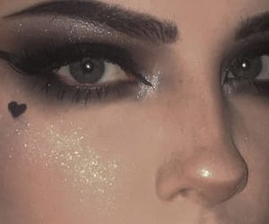 makeup, grunge, and aesthetic image
