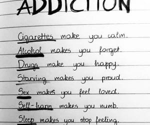 addiction, drugs, and quotes image
