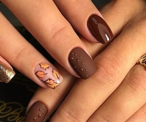 aesthetic, fall fashion, and nail art image
