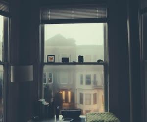 window, rain, and indie image