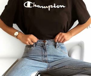 fashion, outfit, and champion image