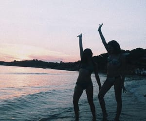 aesthetic, goals, and sunset image