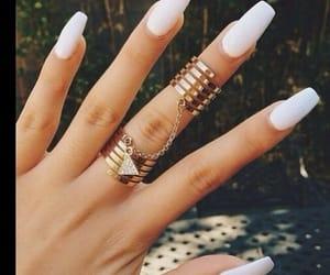 nails, ring, and beautiful image