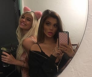 sahar luna, kelsey calemine, and friendship image