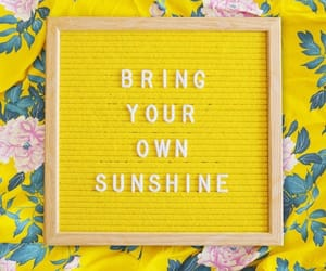 quote, sun, and sunshine image