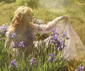 ethereal, fairy, and flowers image