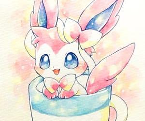 kawaii, pokemon, and sylveon image