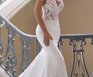 bride, dress, and gorgous image