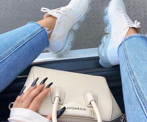 bag, luxury, and sneakers image