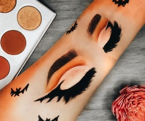 eyeliner, Halloween, and highlight image