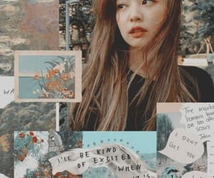 wallpaper, jennie, and blackpink image