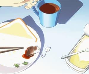 anime, tea, and gif image