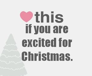 christmas, excited, and fun image