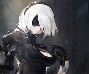 art, cute, and nier: automata image