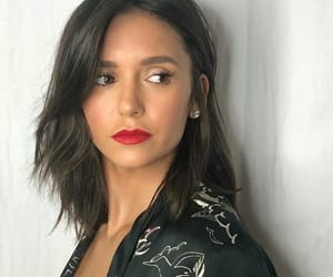 celebrity, makeup, and Nina Dobrev image