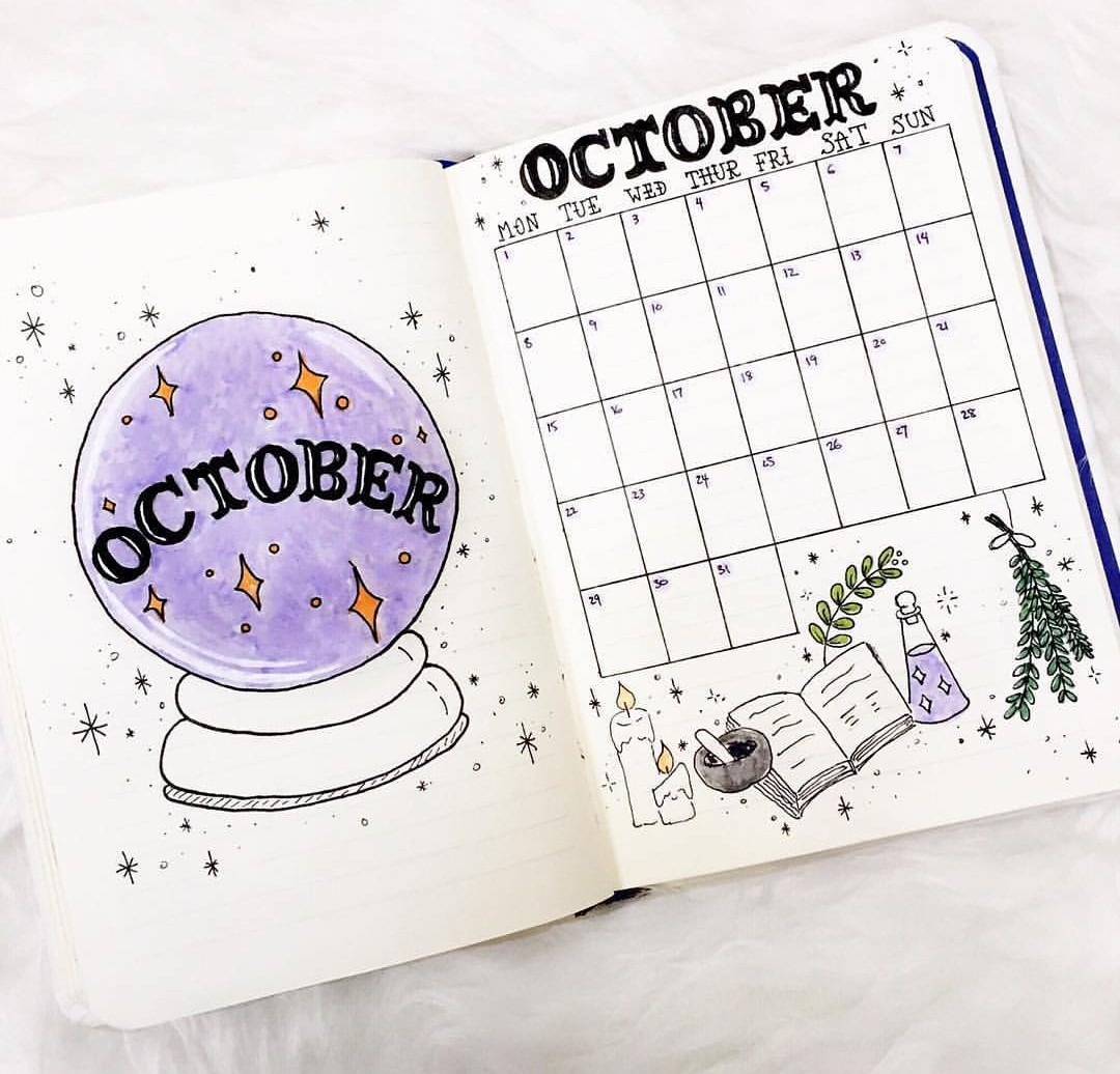 calendar, doodle, and stationery image
