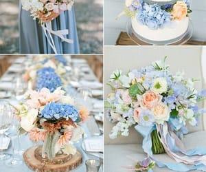 azul, hermoso, and bodas image