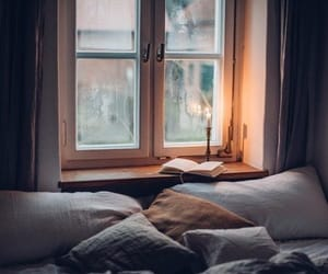 book, cozy, and mood image
