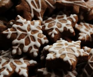 Cookies, snowflake, and winter image