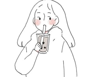 simple, yummy, and milk tea image