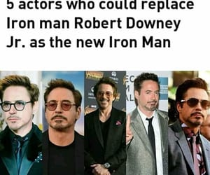 Avengers, robert downey jr, and tony stark image