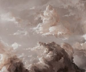 clouds, aesthetic, and beige image