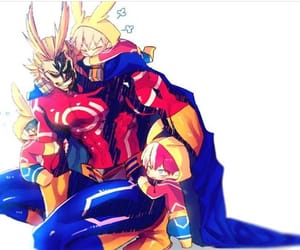 all might and boku no hero academia image