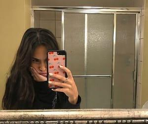 girl, mirror selfie, and cute image