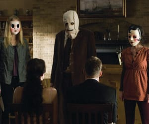 the strangers, movie, and horror image